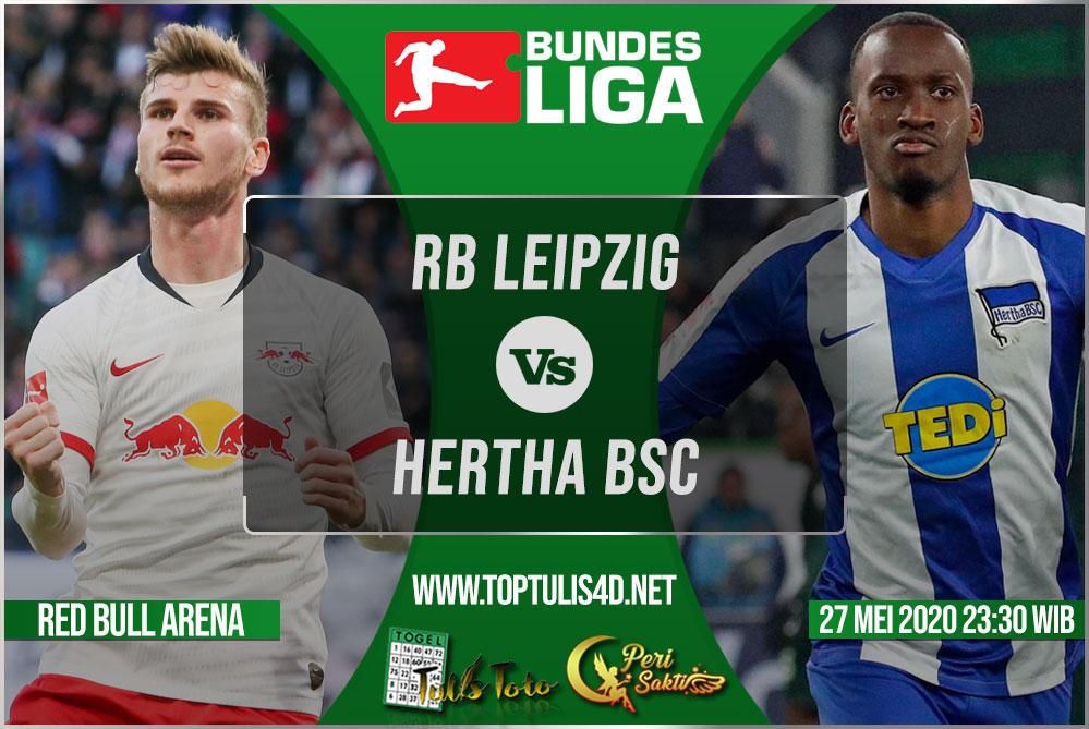 Prediksi RB Leipzig vs Hertha BSC 27 Mei 2020