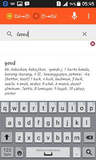 Kamus Bahasa Inggris Offline Untuk Android Ukuran Ringan
