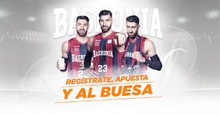 kirolbet regalo seguro nuevos registros Baskonia vs Real Madrid 10 noviembre