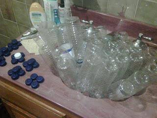 Cara Membuat Tempat Sampah Dari Botol Bekas