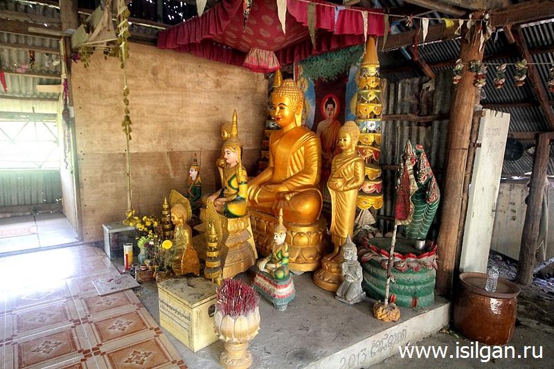 Пещера Пном Чнорк. Провинция Кампот. Камбоджа