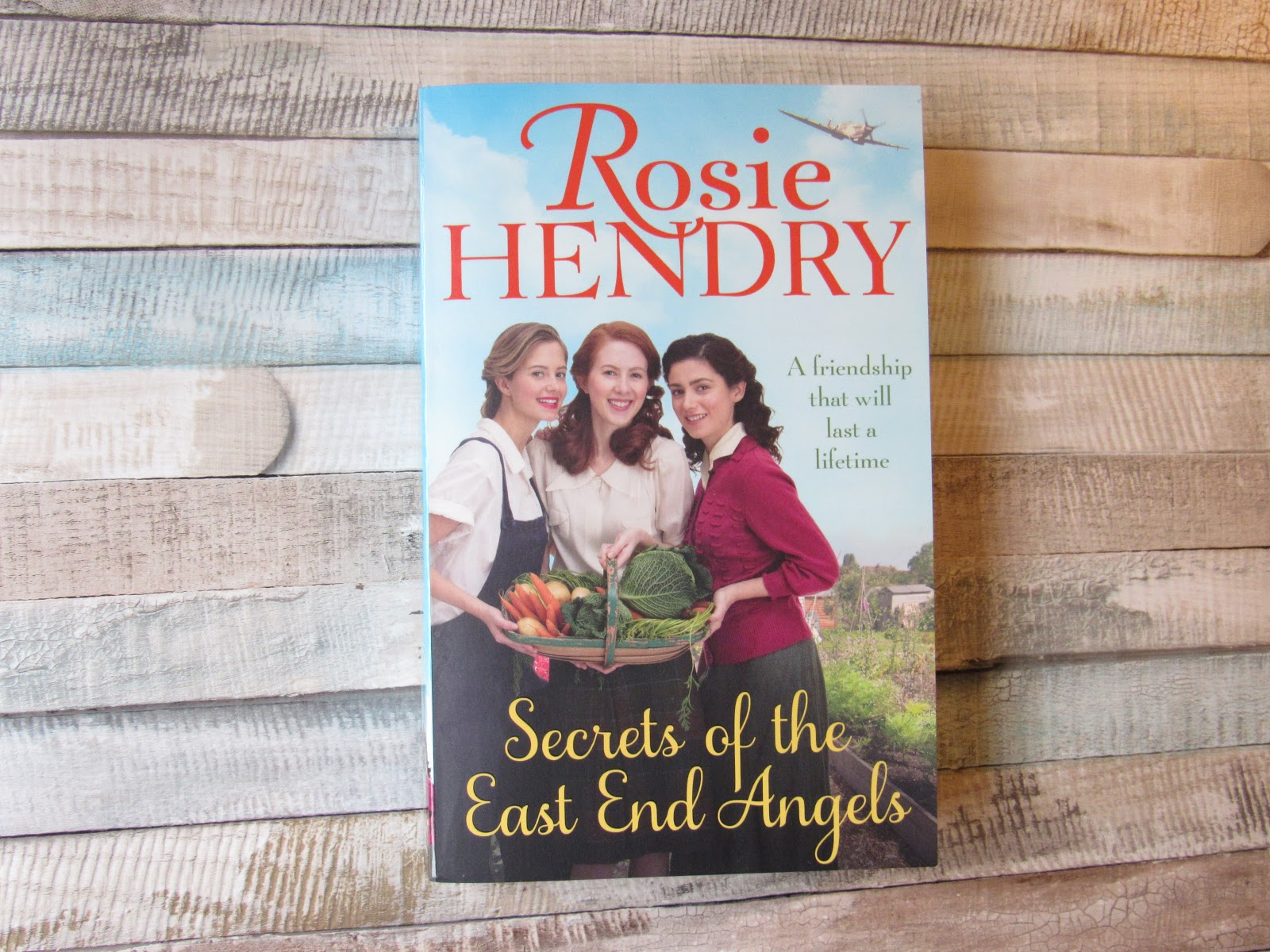 Paperback book of Secrets Of The East End Angels by Rosie Hendry