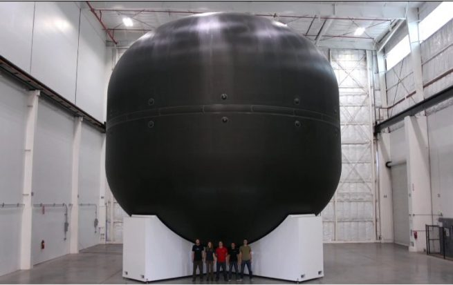 SpaceX Large equipment