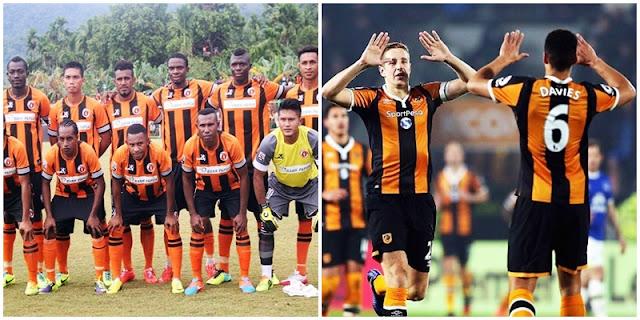 Sepakbola Papua : Belang Jersey Hingga Prestasi, perseru serui, hull city