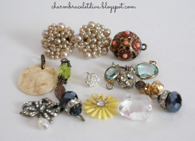 vintage jewelry finds