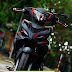 Sơn tem đấu Exciter 2011 phong cách PERFECTO xám đen