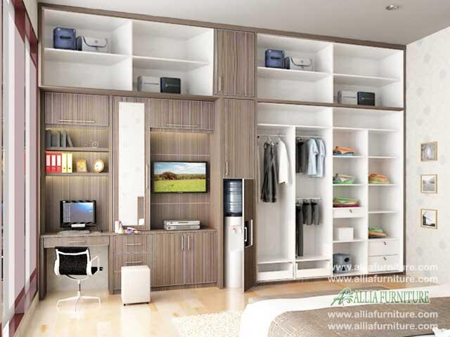 lemari baju minimalis multifungsi maxis