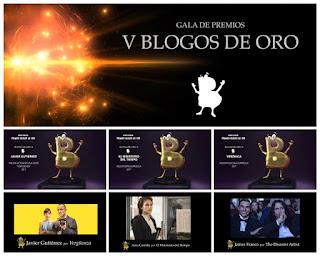 Ganadores Premios de Cine y Tv Blogos de Oro