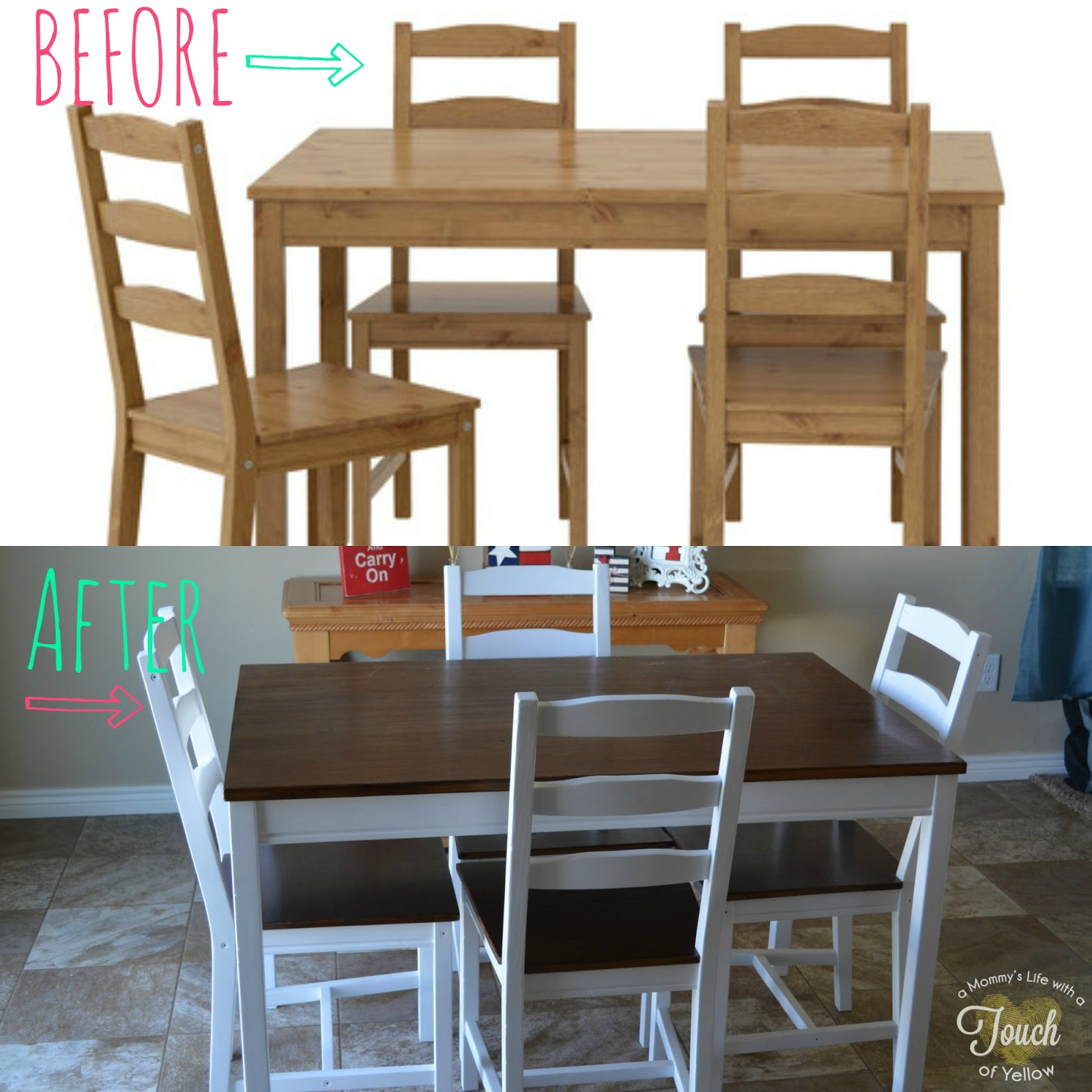 Ikea Kitchen Tables: A Mommy's Life...with A Touch Of YELLOW: Ikea Kitchen