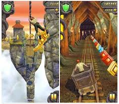 temple run, game online, aplikasi game, app store, google play, voucher game online