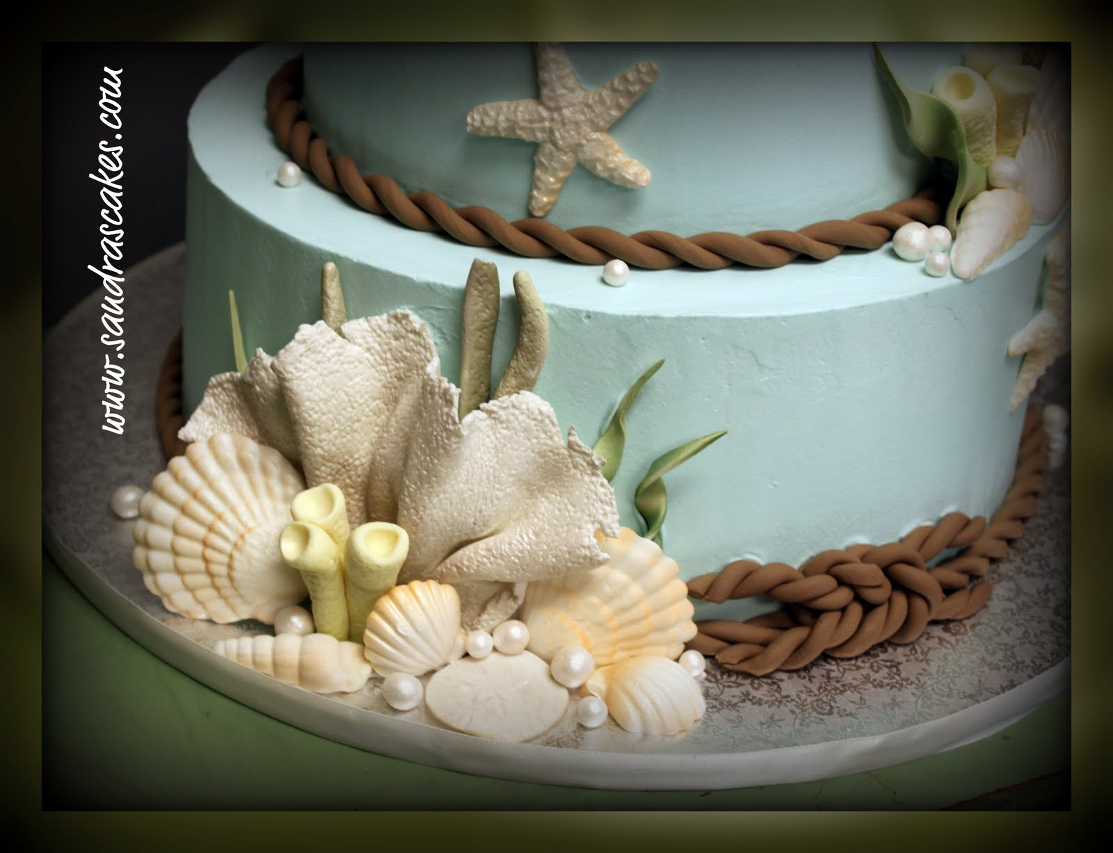 Beach Themes Wedding: Beach Themed Wedding Cakes