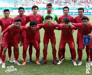 Timnas Indonesia U-19 vs Yordania 3-2