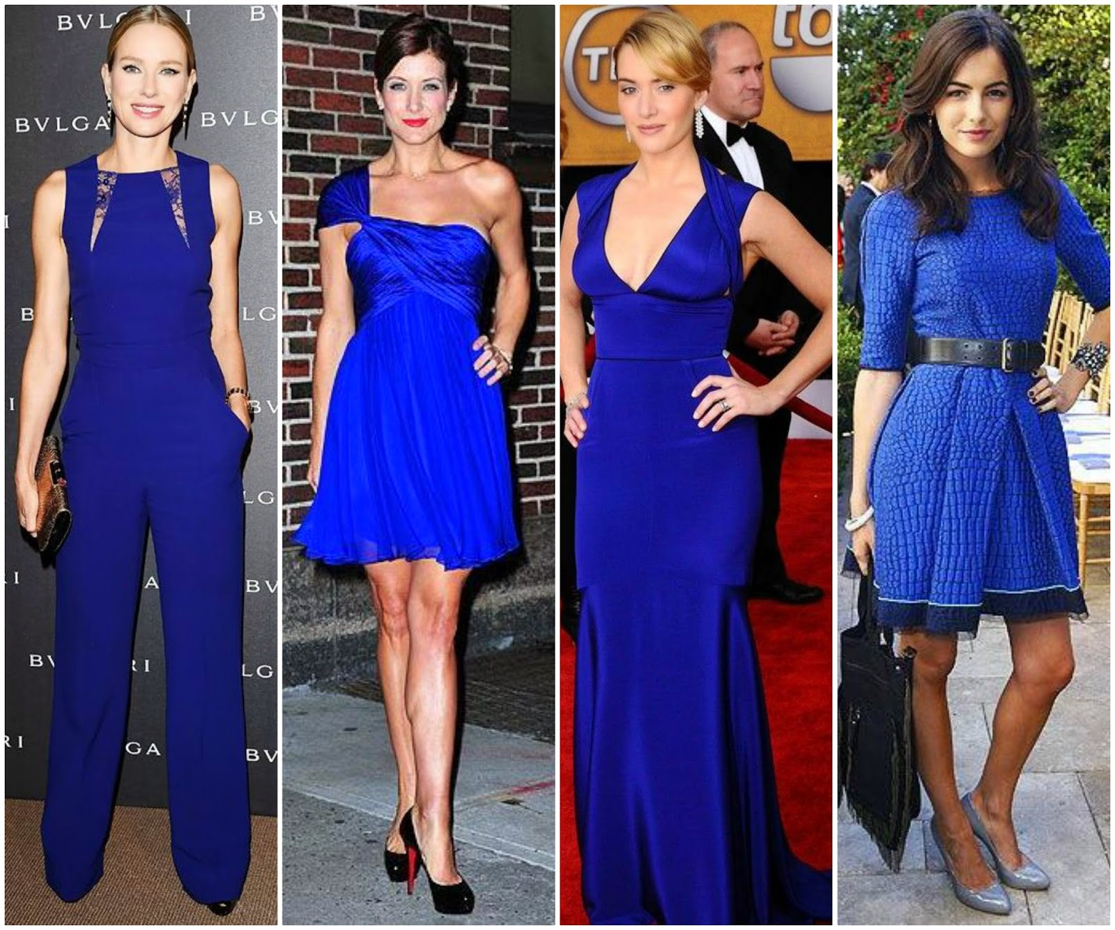 Libra Style, Blue Dress and Evening Gown