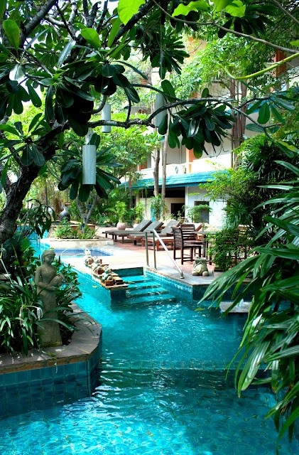 Lazy River in the Backyard | A1 Pictures