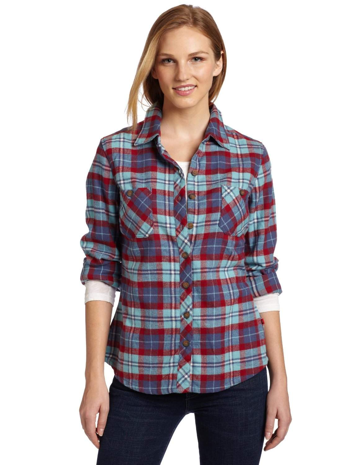 Bend, reach and stretch as you please with our Free Swinging flannel shirts for women. Our women's flannel shirts are packed with comfort and features. Free Shipping on Orders Over $ Free Shipping on your order of $50 or more. $50 minimum order requirement applies to the order total before taxes, shipping, gift packaging, and gift cards.