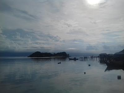 Pemandangan Sore Hari dari Wisman Miranti