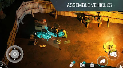 last day on earth APK assemble vehicles