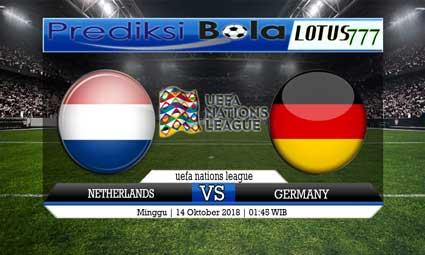 PREDIKSI NETHERLANDS VS GERMANY 14 OKTOBER 2018