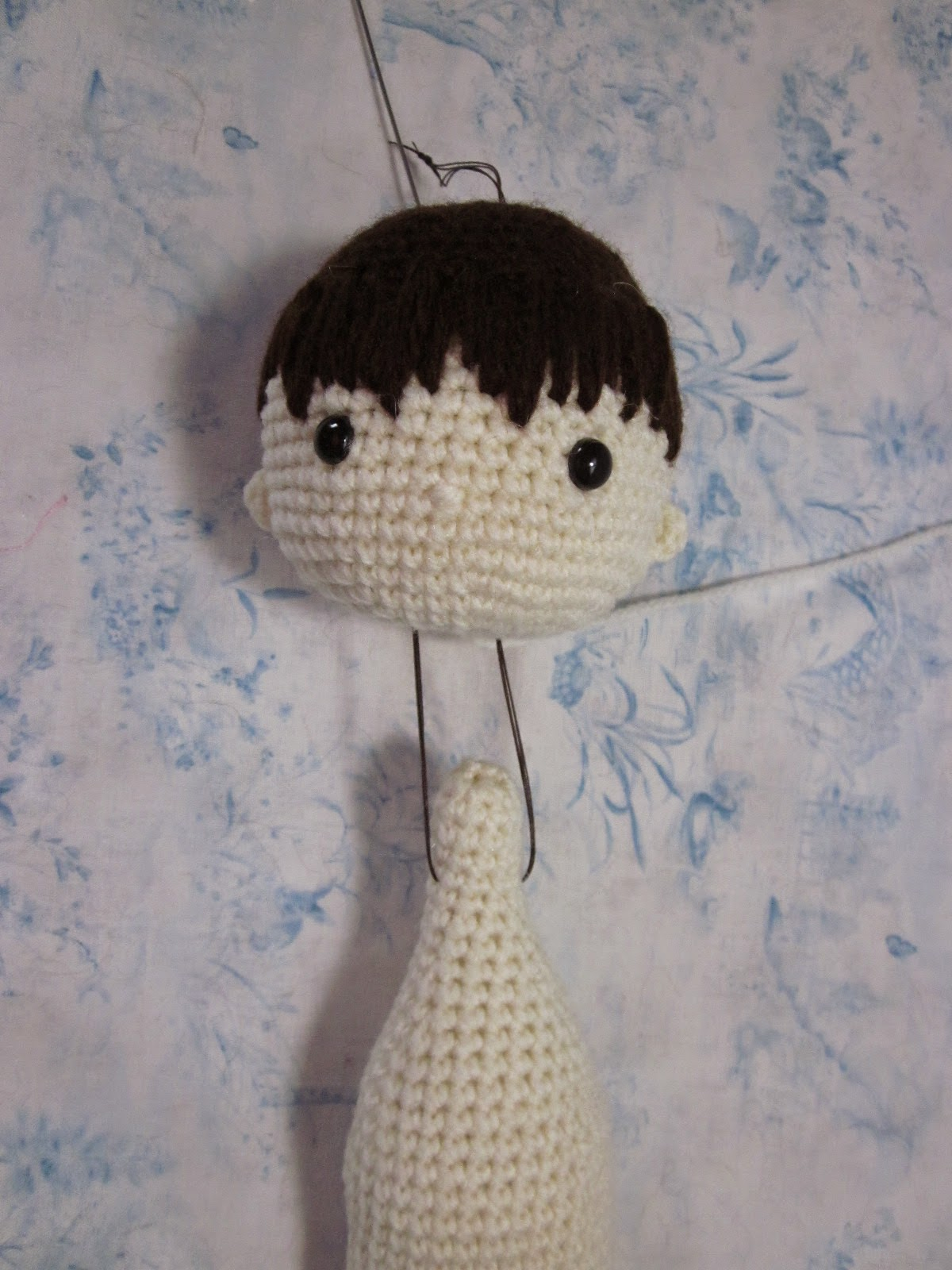 By Hook By Hand My Crochet Doll By Isabelle Kessedjian