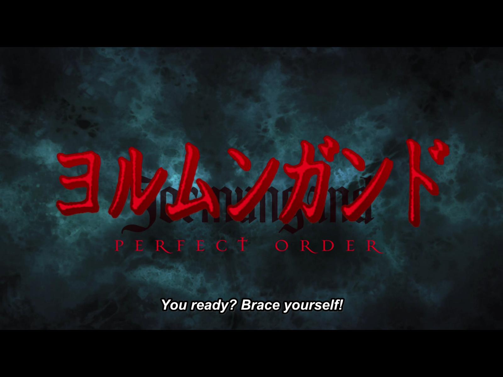 MONDO BIZARRO: Animondo: Jormungand: Perfect Order (Season 2)