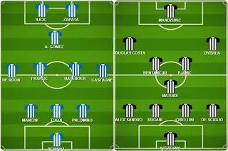 تشكيل يوفنتوس واتالانتا في كأس ايطاليا