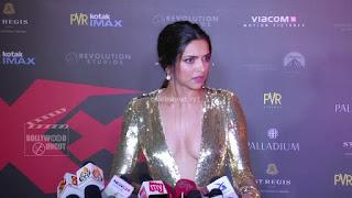 Deepika Padukone Promoting   Return of Xander Cage in India in Golde Gown 22 .xyz.jpg