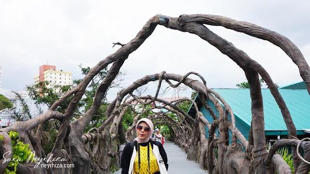 JEMBATAN AKAR Dino Park Jatim Park 3 Batu Malang