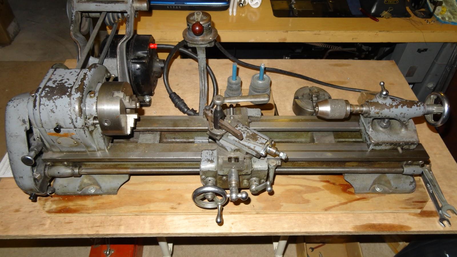 Sewing machine nut atlas 618 lathe for Atlas car aluminium