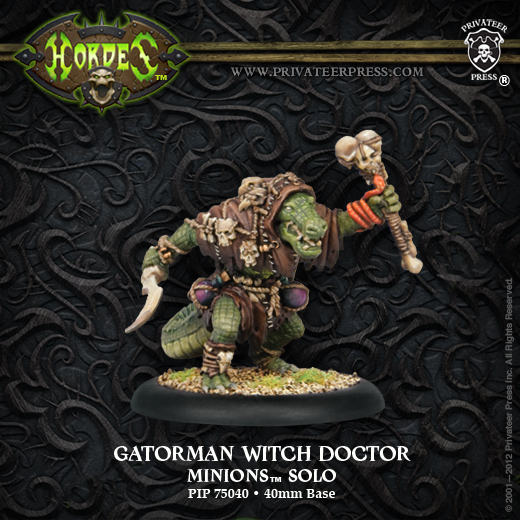Minions Gatorman Witch Doctor photo