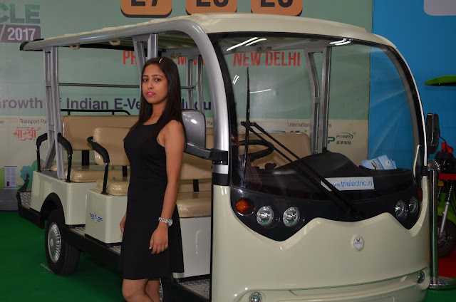 11 seater Campus E-Vehicle by Trielectric