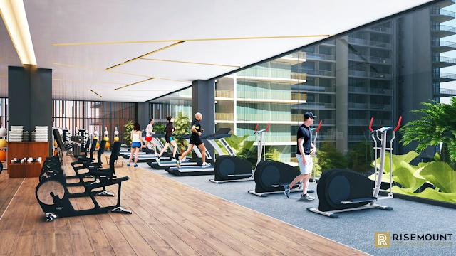 Phòng tập Gym dự án Risemount Đà Nẵng