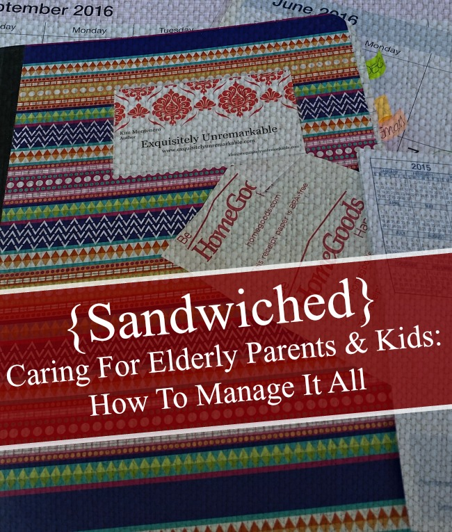 Sandwiched: Caring For Elderly Parents And Kids