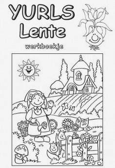 Genoeg Onderwijs en zo voort.....: 0978. Lente : Werkboekje lente @WX12