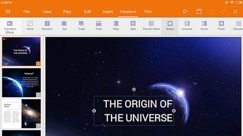 Aplikasi Pembuat Presentasi Android