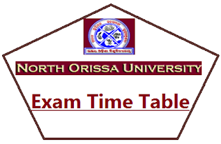 North Orissa University +3 Exam Date 2019