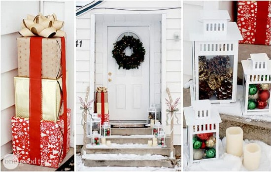 Christmas ornaments for doors
