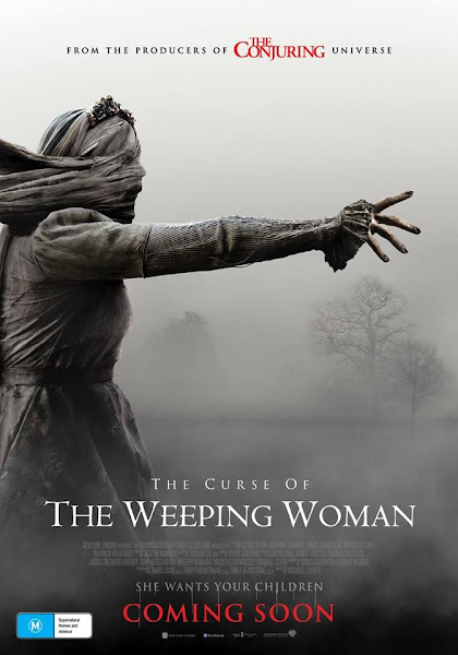 Poster of The Curse of The Weeping Woman (2019) Dual Audio [Hindi-DD5.1] 720p BluRay ESubs Download