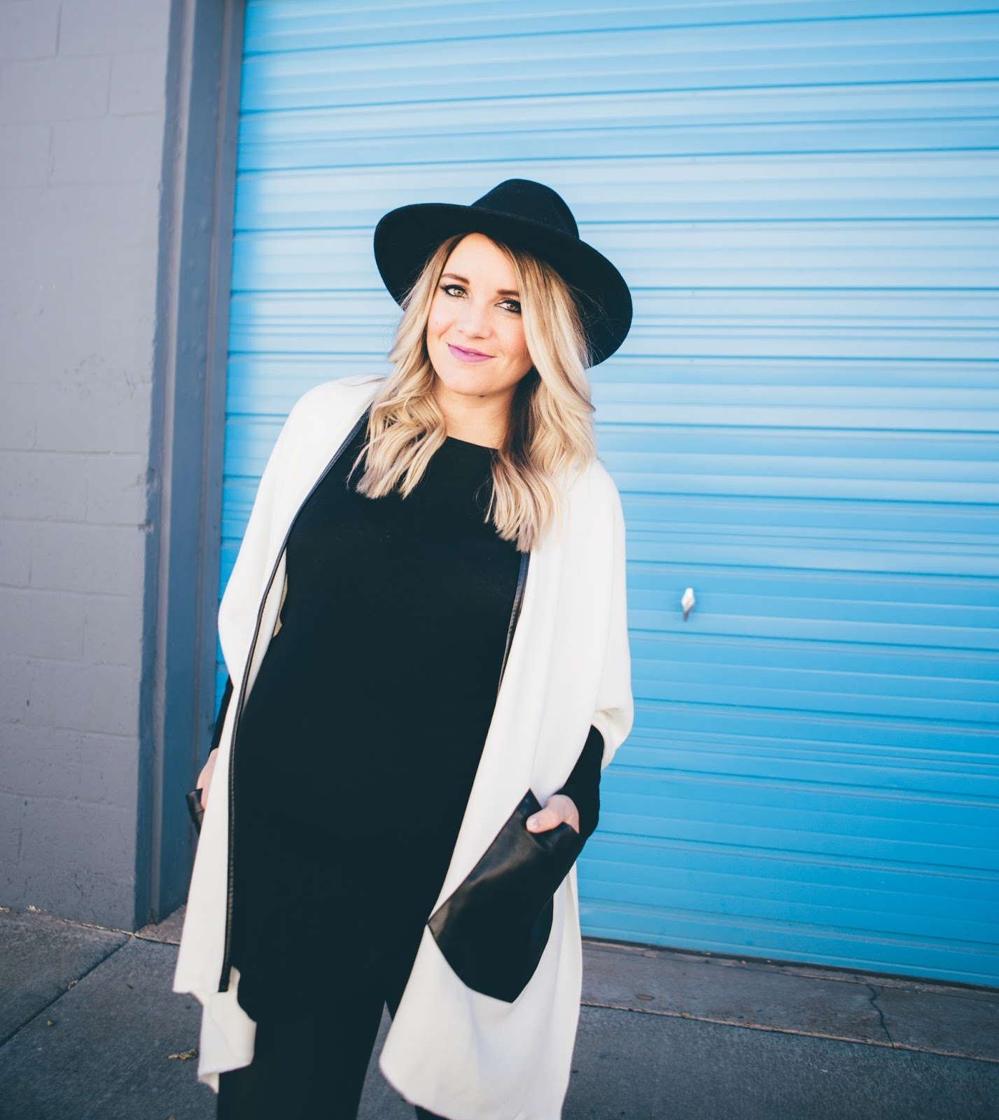 Leather Details, Poncho, Utah Fashion Blogger
