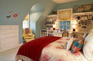 schlafzimmer mit dachschräge neu gestalten
