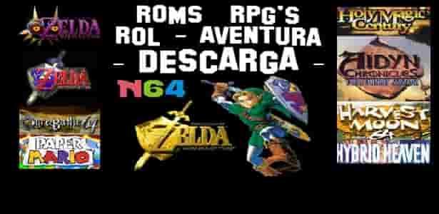 logo top roms rpg n64 para descargar clic aqui para descargar