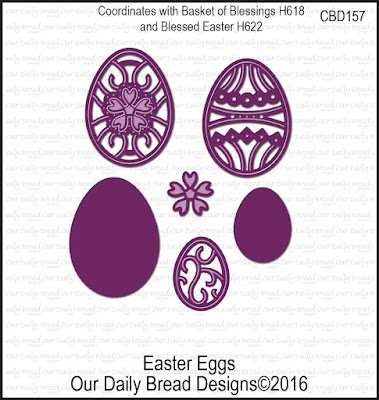 Our Daily Bread Designs Custom Easter Eggs Dies