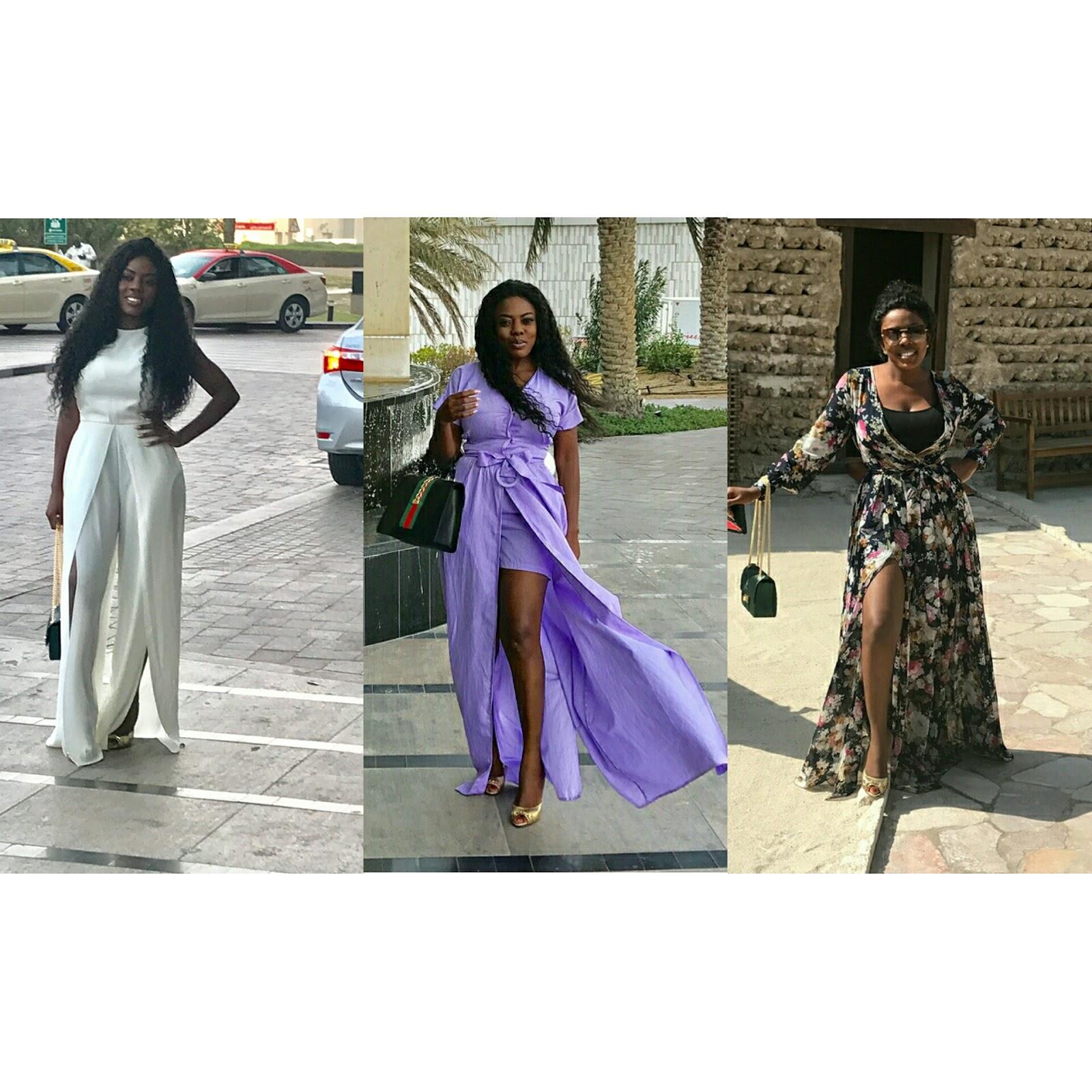 Nana Aba Anamoah Takes Over Dubai In Style Fashionafriq Get Latest African Fashion News