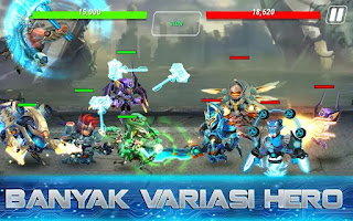 Download Heroes Infinity: Gods Future Fight (updated v 1.6.6) (Mod Money) Apk