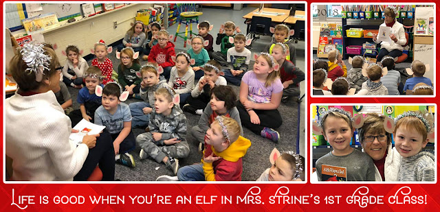 Memories are magical when you read holiday stories together with Annie Lang's A Little Elf Upon a Shelf book.