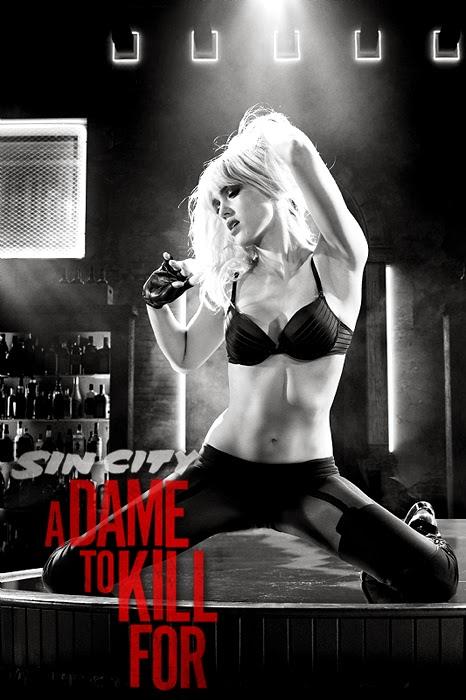 Jessica Alba în Sin City: A Dame To Kill For