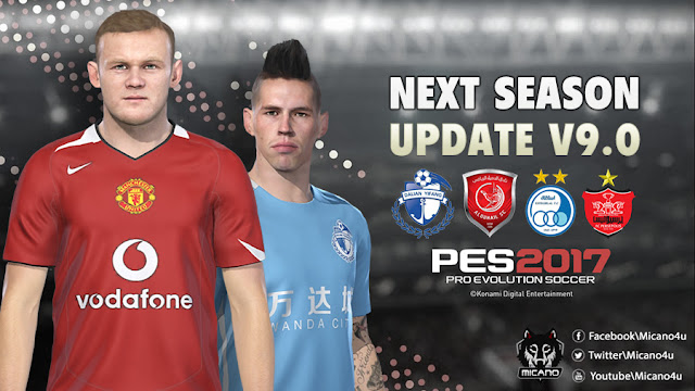 c5387c04fab PES 2017 Next Season Patch 2019 Official Update V9.0 - Micano4u ...
