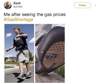 Gas Shortage Memes