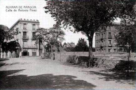 Alhama de Aragón (Zaragoza).