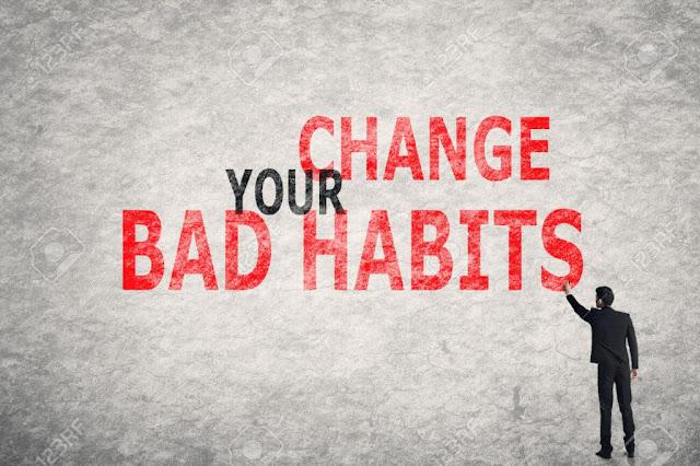 9 عادات رديئة