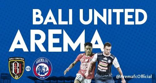 Hasil Bali United vs Arema FC 1-0 Liga 1 Jumat 18 Mei 2018
